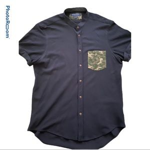 Navy Blue Zara Shirt